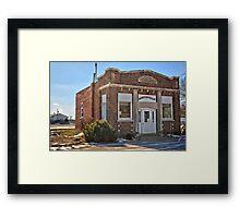 Austinville Bank Framed Print