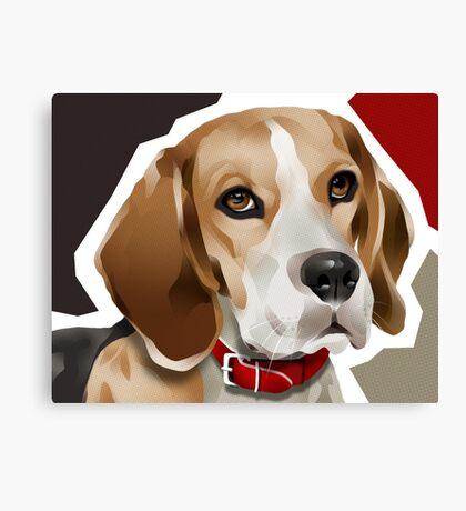 BEE'GEE - Beagle Canvas Print