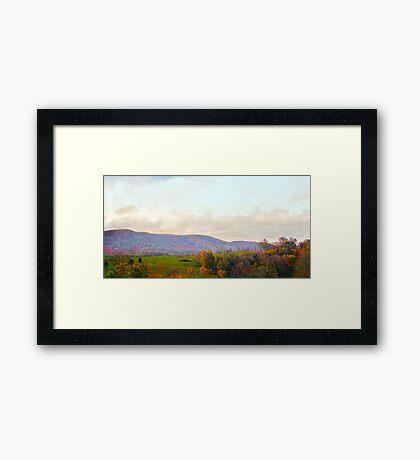 Autumn 2014-1 Framed Print