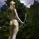 Diana, Goddess Of The Hunt by Al Bourassa