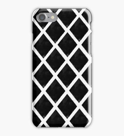 Black and White Diamonds iPhone Case/Skin