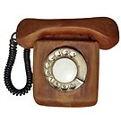 Wooden telephone by sattva