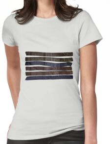 Brushed Bike Womens Fitted T-Shirt