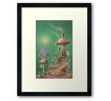 The Magic Mushroom Framed Print
