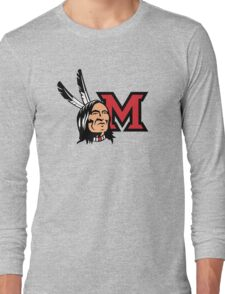 Miami Redskins Long Sleeve T-Shirt