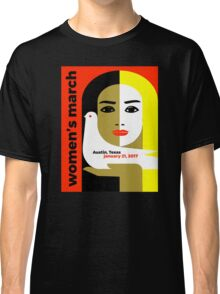 Women's March On Austin Texas 2017 Classic T-Shirt