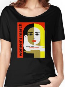 Women's March On Austin Texas 2017 Women's Relaxed Fit T-Shirt