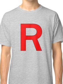 Team Rocket R Logo Classic T-Shirt