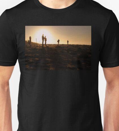 Photographers At Sunset Unisex T-Shirt