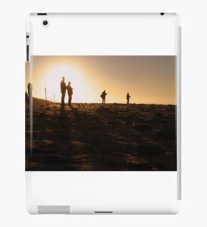 Photographers At Sunset iPad Case/Skin