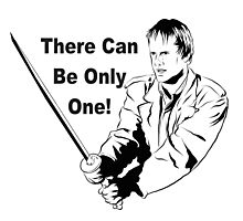 Highlander There Can Be Only one! Cult Classic movie 80s Photographic Print