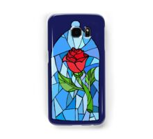 Stained glass Rose  Samsung Galaxy Case/Skin