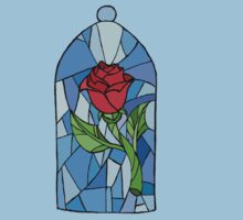 Stained glass Rose  Kids Clothes