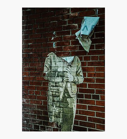 Headless Street Art Photographic Print