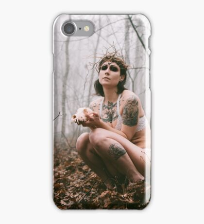 Watcher and Mongrel iPhone Case/Skin