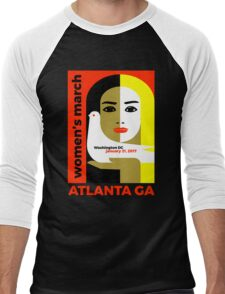 Women's March On Washington 2017 - Atlanta Georgia Men's Baseball ¾ T-Shirt