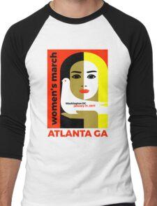 Women's March On Washington 2017 - Atlanta Georgia Men's Baseball ¾ T-Shirt
