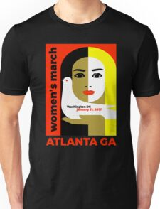 Women's March On Washington 2017 - Atlanta Georgia Unisex T-Shirt