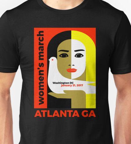 Women's March On Washington 2017 - Atlanta Georgia Unisex T-Shirt