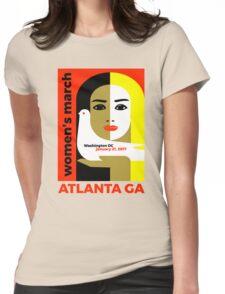 Women's March On Washington 2017 - Atlanta Georgia Womens Fitted T-Shirt