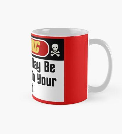 Warning Red Shirts May Be Hazardous ( Mugs & Travel Mugs) Mug