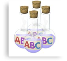 Glitch Alchemy potion alphabet sauce Canvas Print