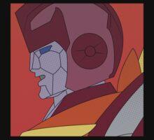 Rodimus Prime Halftone by innergeekdesign