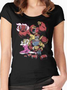 Barrel Boss Battle Women's Fitted Scoop T-Shirt
