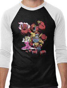 Barrel Boss Battle Men's Baseball ¾ T-Shirt