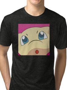 Mew Halftone Tri-blend T-Shirt