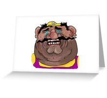 Sad Wario Greeting Card