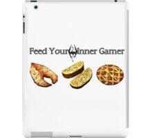Feed your Inner Gamer iPad Case/Skin