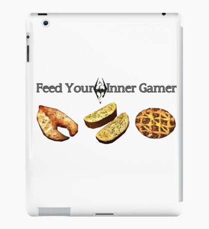 Feed your Inner Gamer iPad Case/Skin