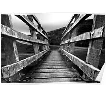 New Photography! - Black & White Bridge  Poster