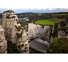Rocky Walls - Travel Photography Photographic Print