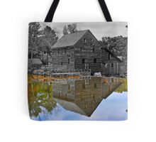 Mirror Image - Grist Mill Reflections Tote Bag