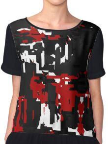 fractured Chiffon Top