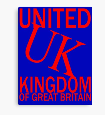 UK-2A Canvas Print
