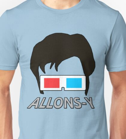 10th Doctor Allons-y Unisex T-Shirt