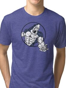 Muscle Zoo Great White Tri-blend T-Shirt