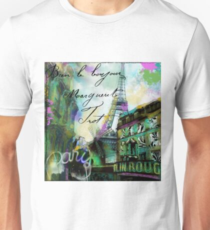 To Paris with Love I Unisex T-Shirt