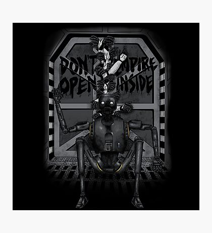 Don't Open Empire Inside Photographic Print
