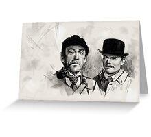 Livanov and Solomin Greeting Card