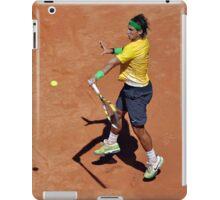 Forehand stroke (Rafael Nadal) iPad Case/Skin
