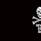 Never Say Die (White Text Mugs & Travel Mugs) by PopCultFanatics