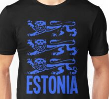 ESTONIA-(2) Unisex T-Shirt