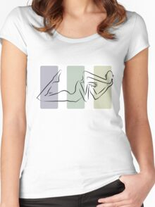 Untitled Body II Women's Fitted Scoop T-Shirt