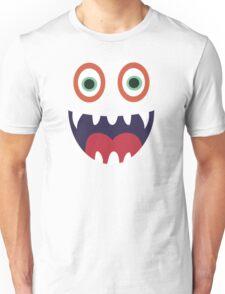 Cool Happy Monster Face T-shirt Cute Smily Face Kids Tshirt Unisex T-Shirt