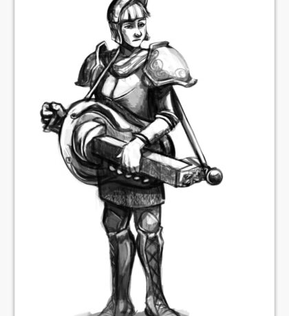 Battle Bard Sticker