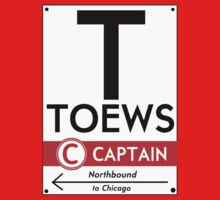 Retro CTA sign Toews Kids Clothes